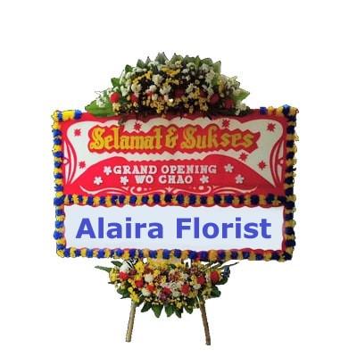 Karangan Bunga Ucapan Selamat Alaira Florist